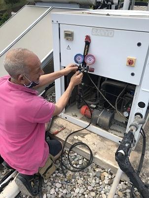 carga gas 401A